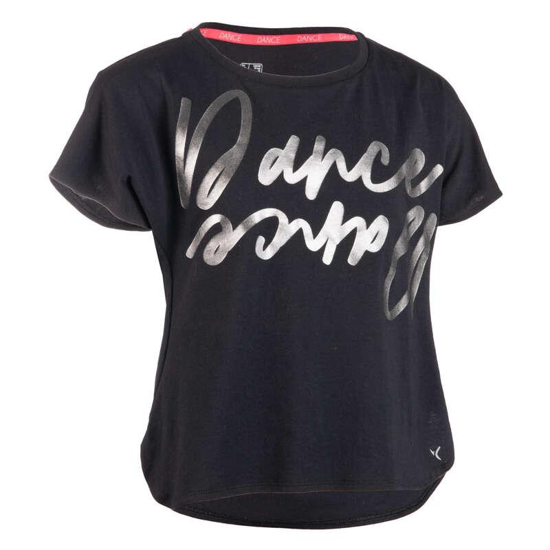 ROUPA DANÇA MODERNA, STREET DANCE MENINA Dança - T-shirt Dança Moderna Menina DOMYOS - Dança Moderna