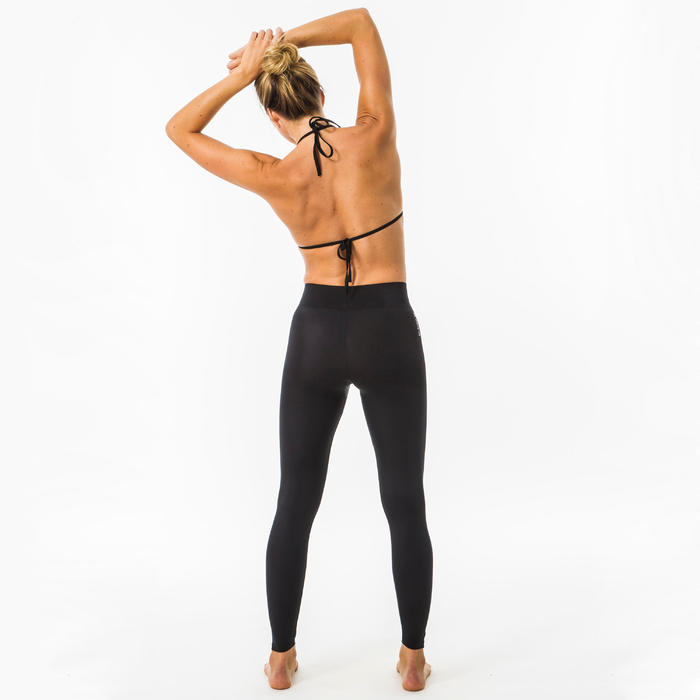 LEGGINGS UV SURF 100 WOMEN BLACK