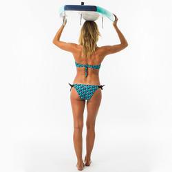 Bandeau bikini top voor dames Laura Hazu met uitneembare pads