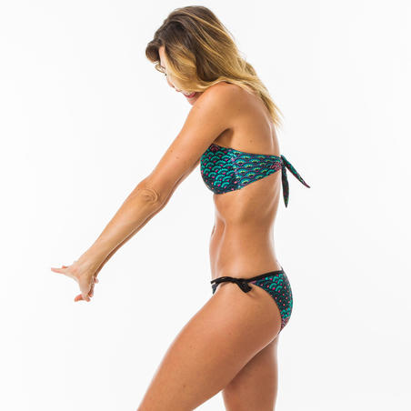 Bandeau swimsuit top LAURA JIU with removable padded cups