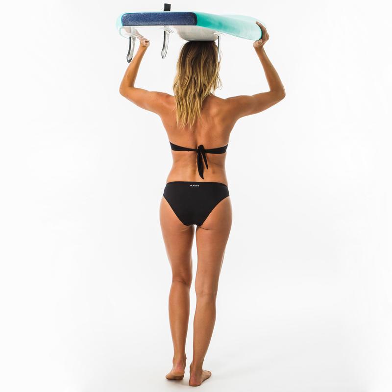 Nina Women's Classic Bikini Briefs Swimsuit Bottoms - Black