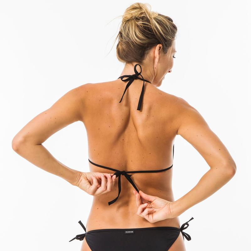 Women's Surf Swimsuit Top - Mae Black