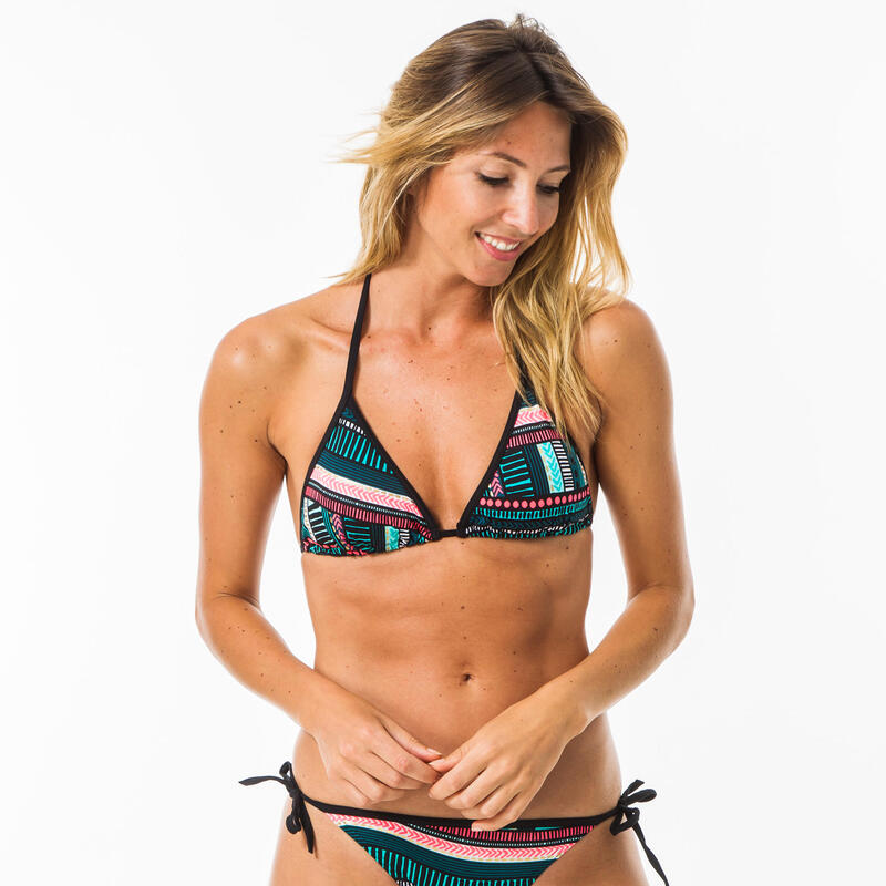 Triangle Bikinitop dames Mae Vila met schuifcups en pads