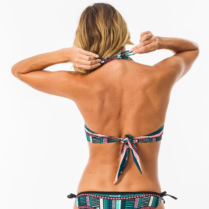Bikinitop voor surfen Laura Vila bandeau met uitneembare pads