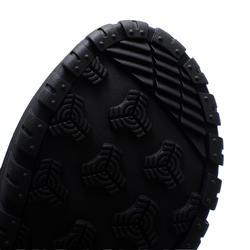 Chaussures chaudes de randonnée neige enfant SH500 warm lacet mid bleues