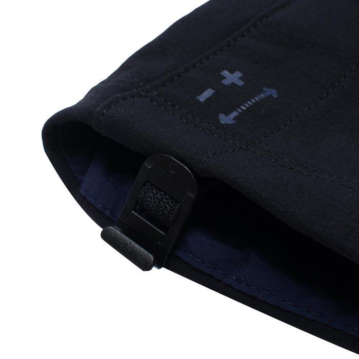 2至6歲兒童款健行軟殼長褲MH500-黑色