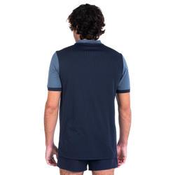 T shirt entraînement de rugby Perf Tee R500 bleu