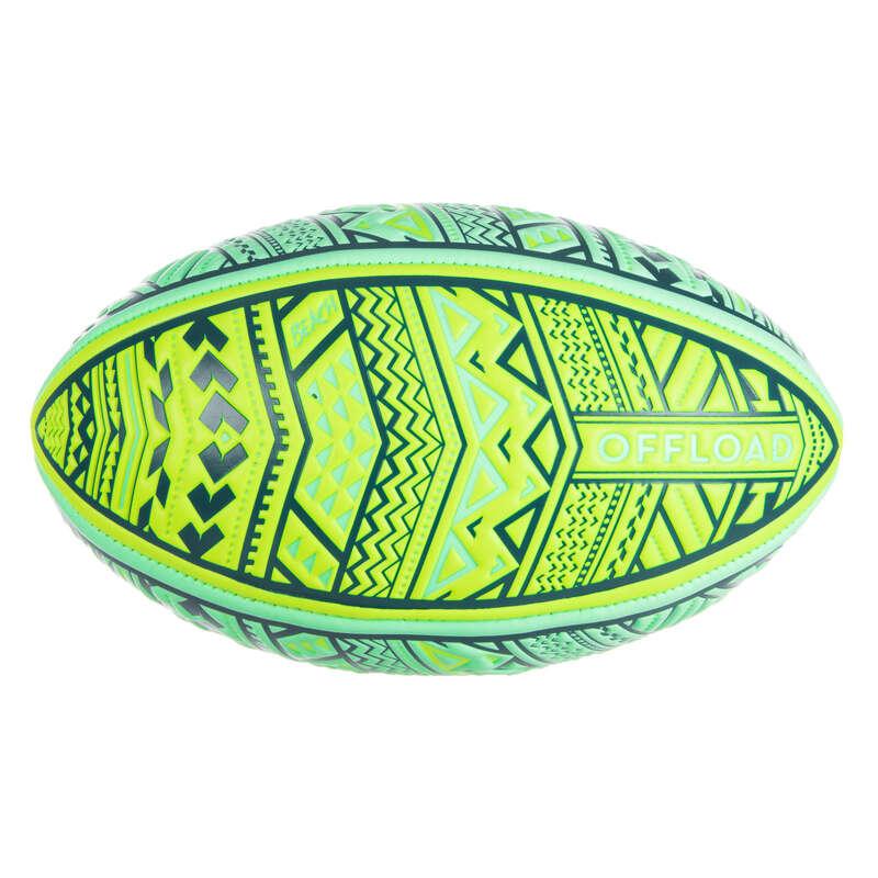 МЯЧИ, АКСЕССУАРЫ / РЕГБИ Регби - Мяч для пляж. регби R100 Maori OFFLOAD - Регби