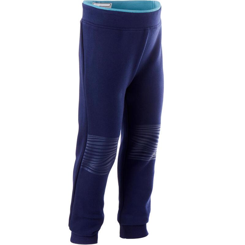 Kids' Baby Gym Breathable Slim-Fit Jogging Bottoms - Blue