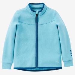 Veste 500 Baby Gym fille et garçon Turquoise