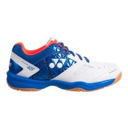 Chaussure de Badminton homme Power Cushion 48 Blanc Bleu