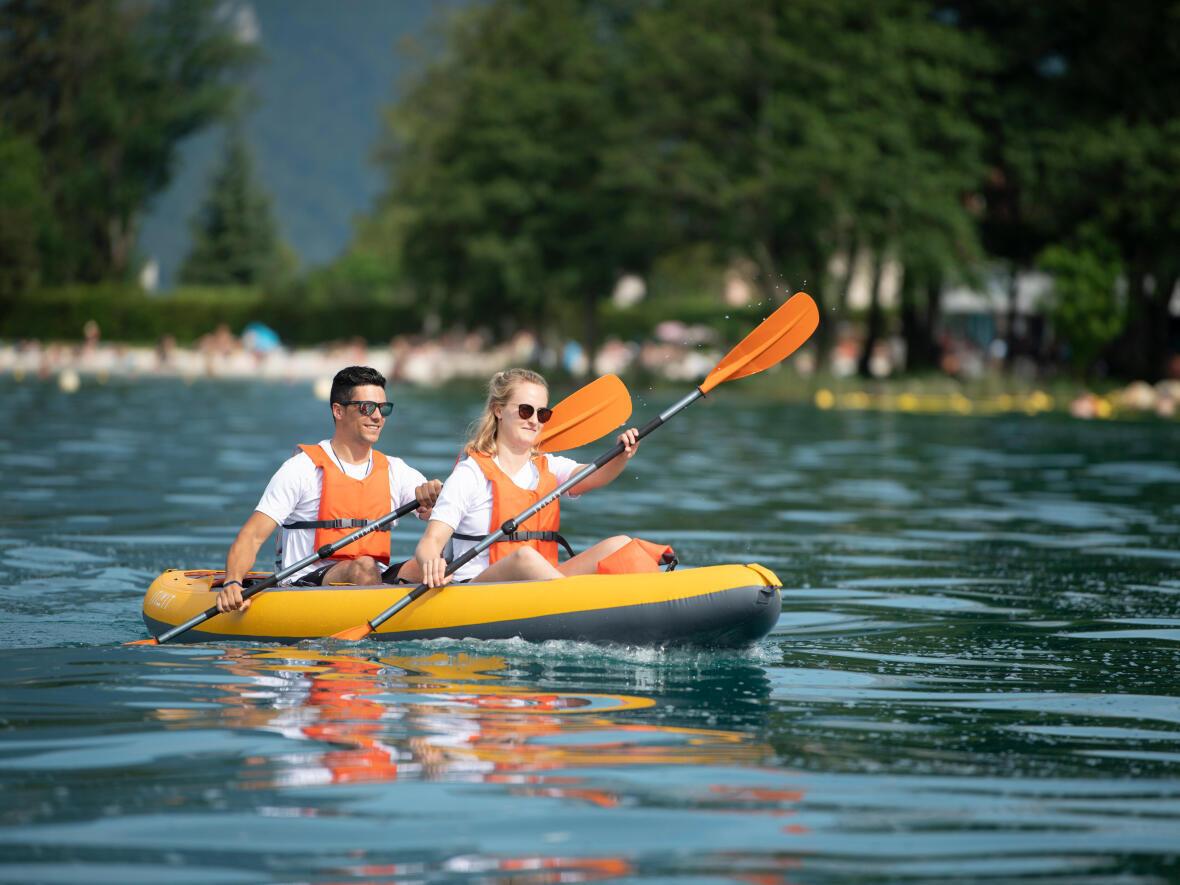 confortable inflatable kayak