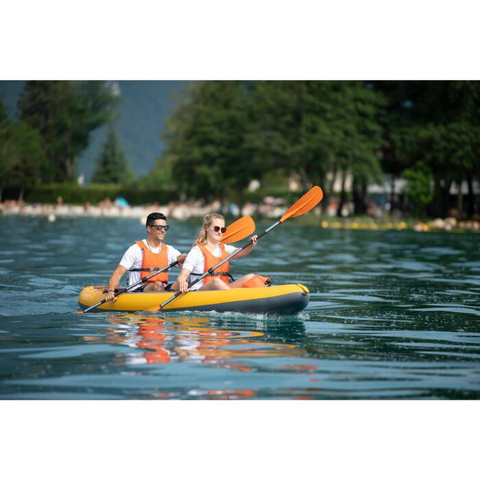Chaleco Ayuda A La Flotación Kayak Stand-Up Paddle Itiwit Naranja 50N