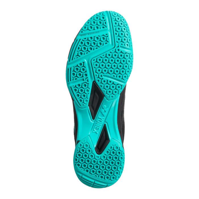 Chaussure de Badminton homme Power Cushion 56 Noir /Menthe