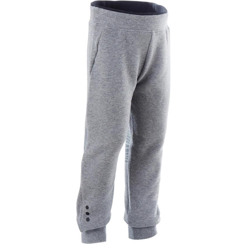 Kids' Baby Gym Breathable Slim-Fit Jogging Bottoms - Grey