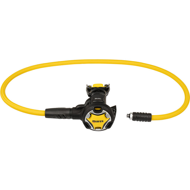 Mares Dual Diving Octopus - Yellow