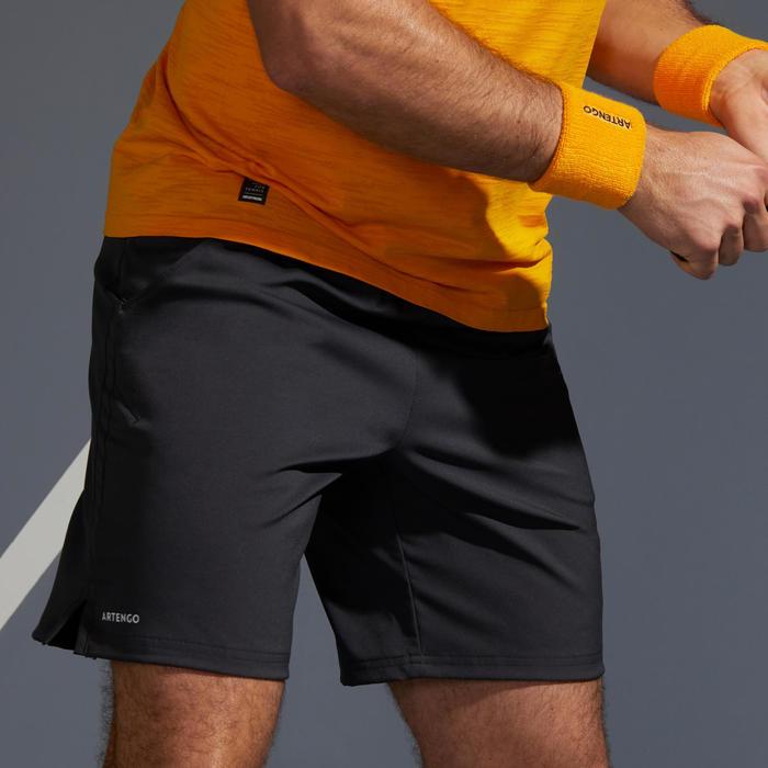 男款快乾網球短褲TSH 500-灰色