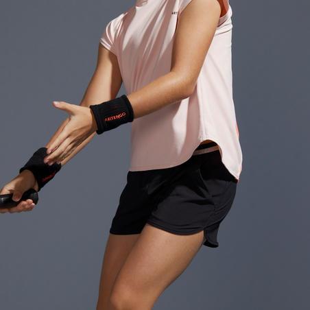 Girls' Tennis Shorts 500 - Black
