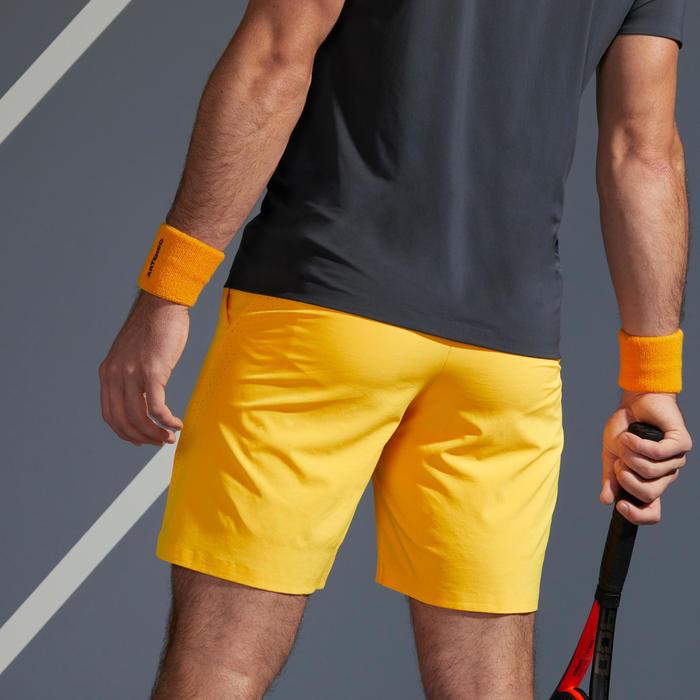 Tennisshort voor heren TSH 900 Light geel