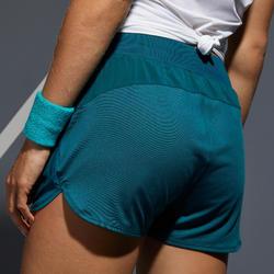 SHORT DE TENNIS FEMME SH DRY 500 VERT