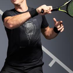 Men's Tennis T-Shirt TTS100 - Black