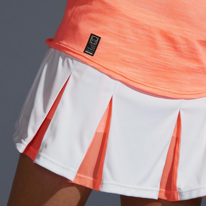 女孩款網球背心Tank Top 900-珊瑚紅