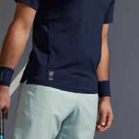 Men's Tennis Polo Shirt TPO 500 Dry - Navy/White
