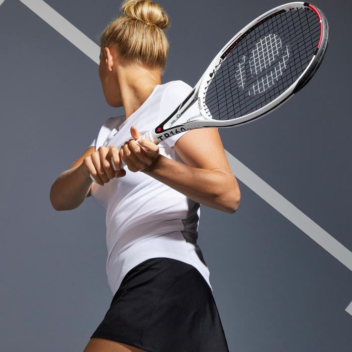 Tennis-T-shirt voor dames TS Dry 100 wit