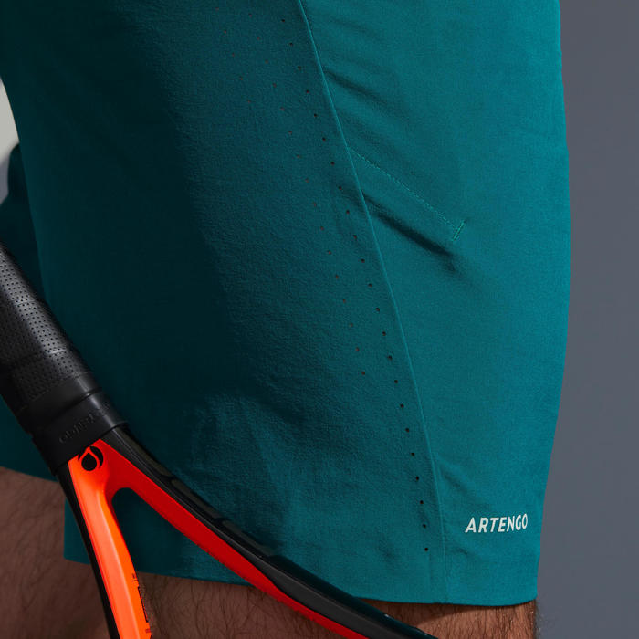 Tennisshort voor heren TSH 900 Light groen