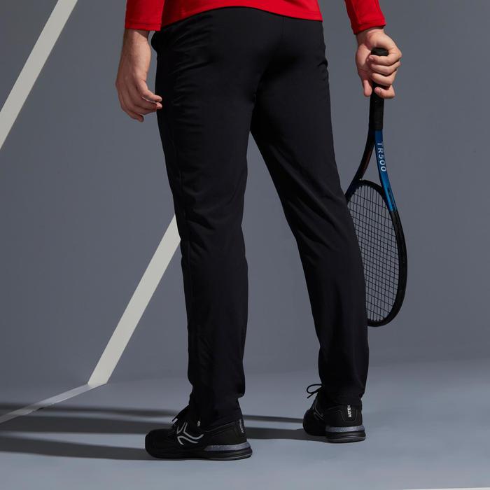 Tennisbroek voor heren TPA 500 zwart