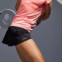 Women's Tennis Skirt SK Dry 100 - Black