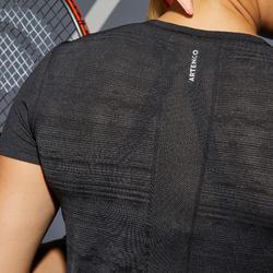 TEE SHIRT DE TENNIS FEMME TS LIGHT 990 NOIR