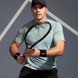 Tennispolo heren TPO 500 Dry groen