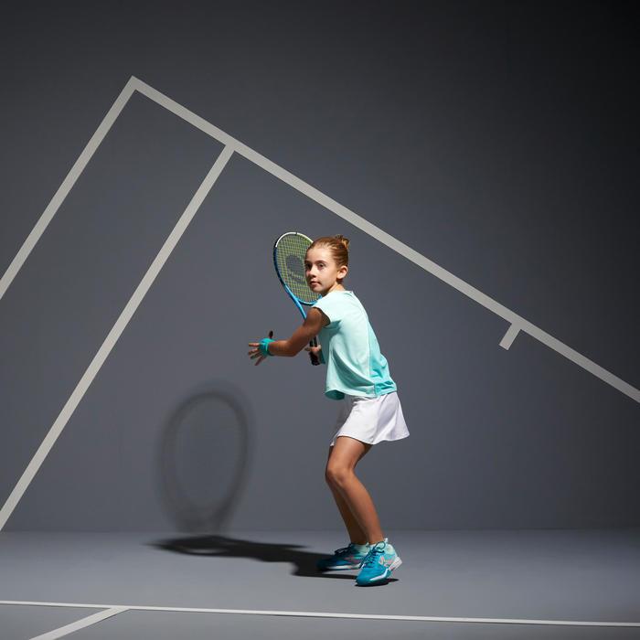 Tennisrokje meisjes Artengo TSK500 wit