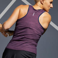Women's Tennis Tank Top TK Dry 100 - Navy / Pink