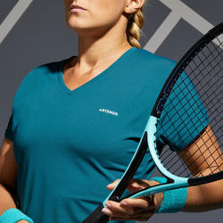 Women's Tennis T-Shirt TS Soft 500 - Green