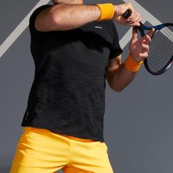 Men's Tennis T-Shirt TTS 500 Soft - Black