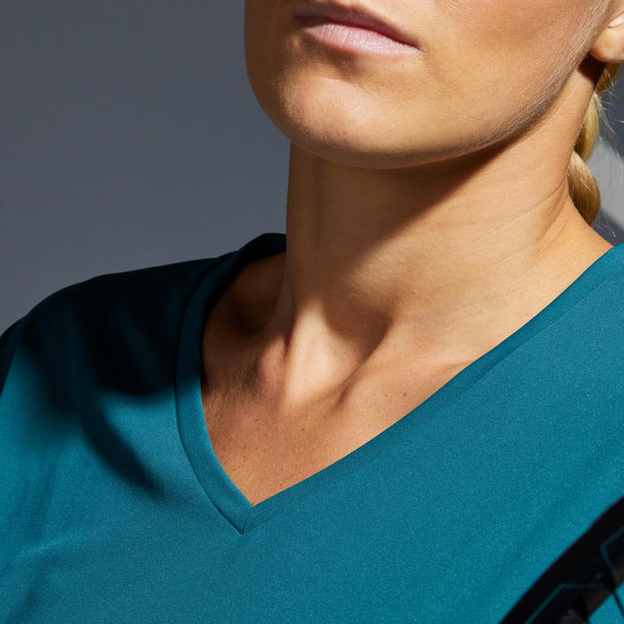 Women's Tennis T-Shirt TS Soft 500 - Green