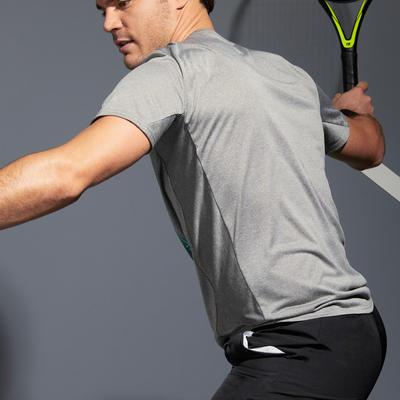 Men's Tennis T-Shirt TTS100 - Grey