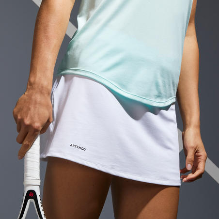 Women's Tennis Skirt SK Dry 100 - White