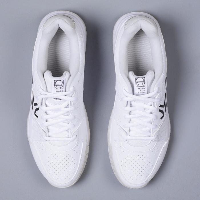 Tennisschoenen voor heren TS160 wit multicourt