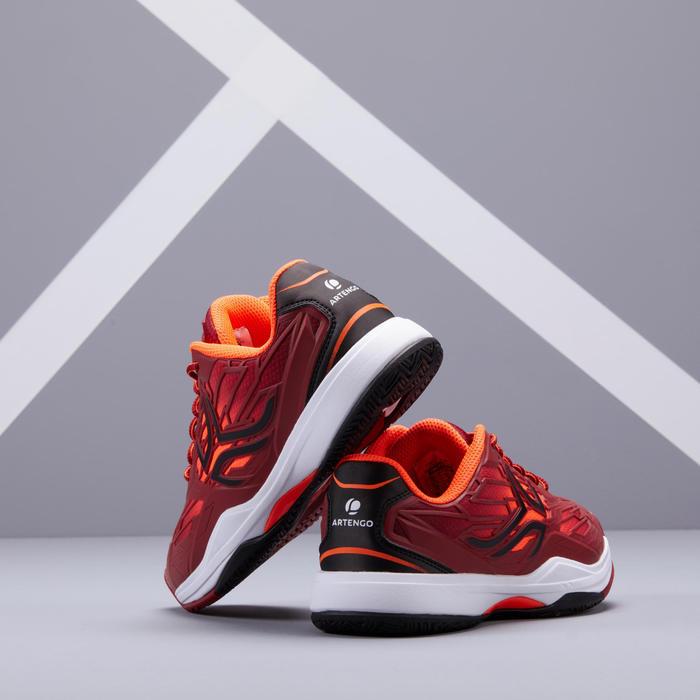 Tennisschoenen voor kinderen Artengo TS990 rood
