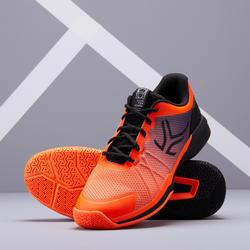 男款多場地網球鞋TS590 - 橘黑配色