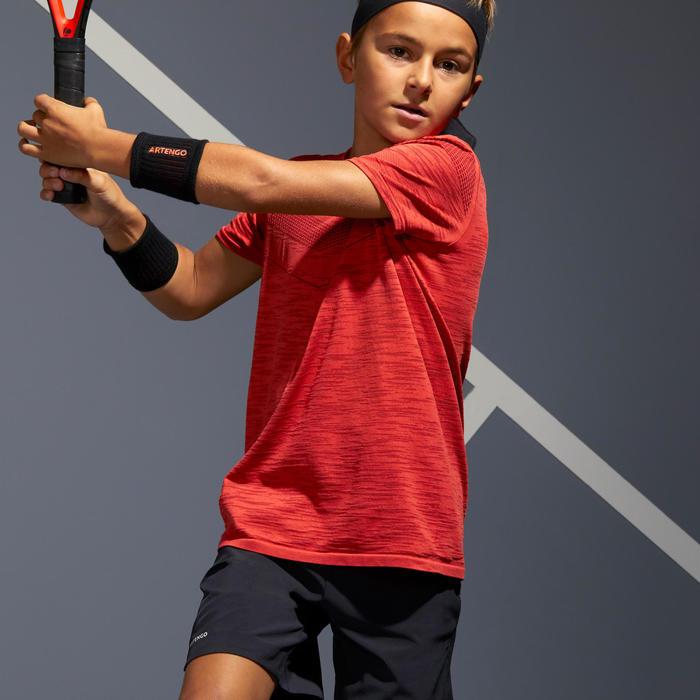 Tennis Shirt 900 Jungen rot