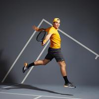 Men's Tennis T-Shirt TTS 500 Soft - Yellow