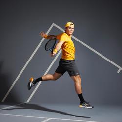 Tennisshort voor heren Dry TSH 500 grijs