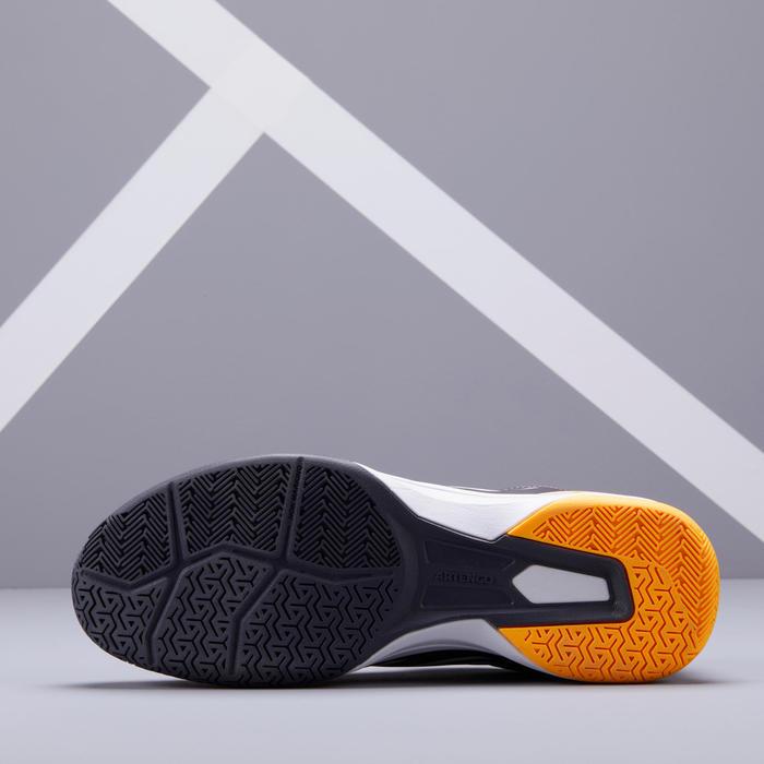 男款多場地網球鞋TS500 - 黃灰配色