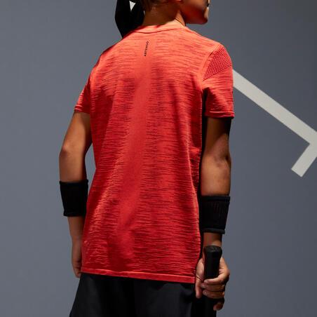 Boys' T-Shirt 900 - Yellow/Red