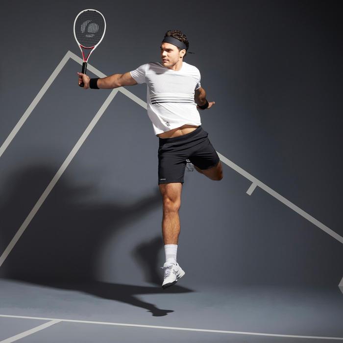 Men's Tennis T-Shirt TTS 900 Light - White/Black