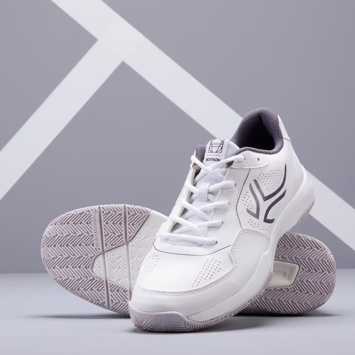 CHAUSSURES DE TENNIS HOMME TS110 BLANCHES MULTI COURT